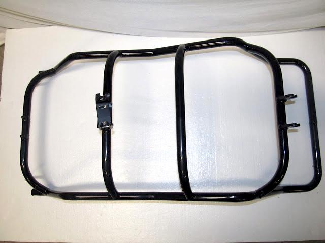 TW Bents Trident Recumbent Trike Aluminum Seat Frame w/ Mounts